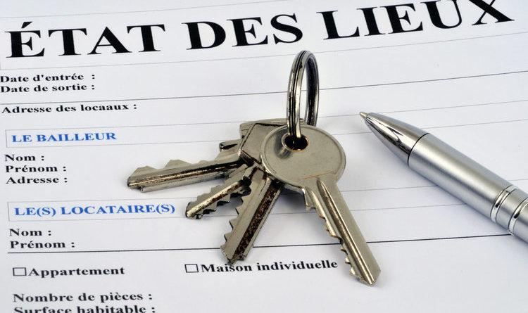 État des lieux d'entrée dans une location d'appartement meublé