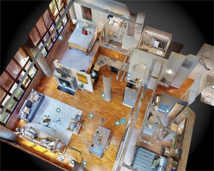 Logiciel de visite virtuelle d'un bien immobilier
